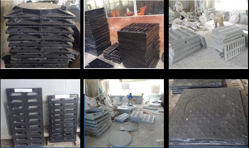 Các mẫu lưới chắn rác, hố ga đều rất đa dạng